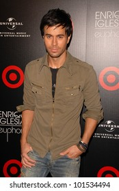 "Enrique Iglesias  at the Enrique Iglesias ""Euphoria"" Album Release Party Hosted By Target, My House, Hollywood, CA. 07-06-10"