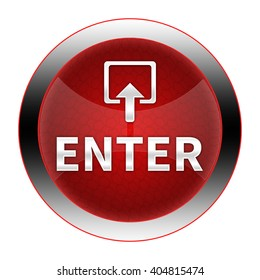 enter button isolated