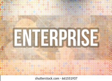 Enterprise, business & finance conceptual words for web page, graphic design, texture, catalog, wallpaper or background.