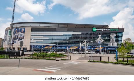 Enterprise Center St. Louis  - ST. LOUIS, MISSOURI - JUNE 19, 2019