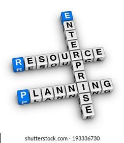enterprise resource planning crossword puzzle