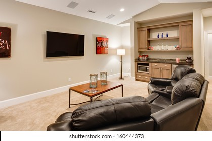 Entertainment Room in Luxury Home