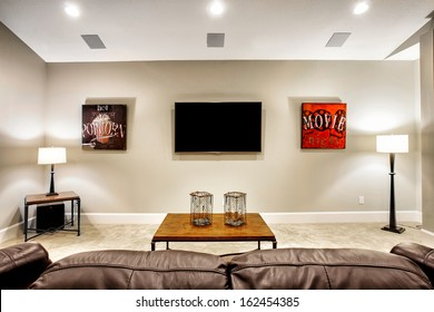 Entertainment Room in New Home