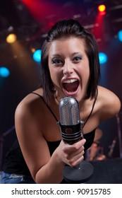 Enthusiastic announcer