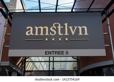 Entrance Amstlvn Mall At Amstelveen The Netherlands 2019 Entree 5