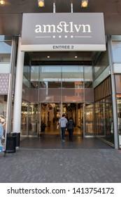 Entrance Amstlvn Mall At Amstelveen The Netherlands 2019 Entree 2