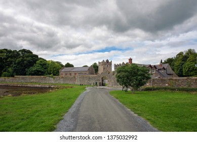 Entrance to the Castle Ward in Northern Ireland, which was used as a filming location for popular movies and TV series.