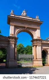 Entrance to City Park in Berlin Germany