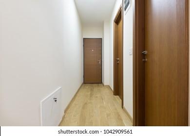 Entrance corridor, apartment interior