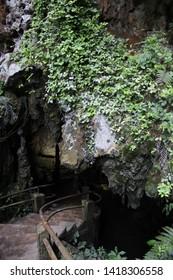 Entrance of the Devil's Cave, Eldorado, São Paulo, Brazil.