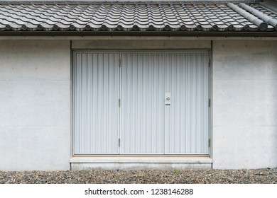 entrance door of japanese style house