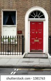 Entrance door, London