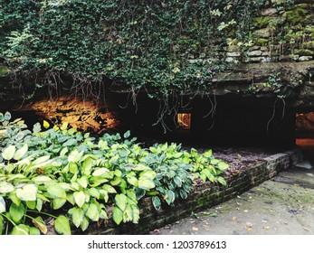 Entrance to Fantastic Caverns, Springfield, MO