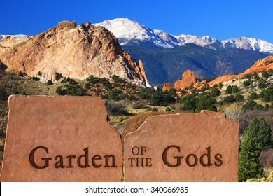 Entrance to Garden of the Gods, Colorado Springs