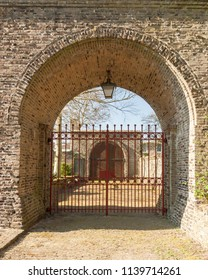 Entrance gate to Lioba cloister garden
