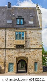 Entrance gate of the Stadthagen castle in Germany