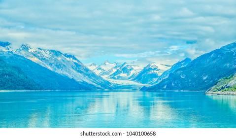 Entrance to Glacier Bay National Park and Preserve, Alaska