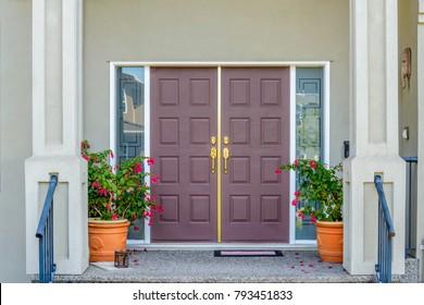 Entrance of a house.