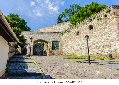 Entrance into the Castle of Eger, Hungary