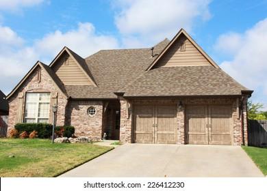 Entrance of a nice single family house