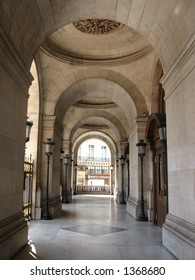 Entrance to the Opera Garnier in Paris France
