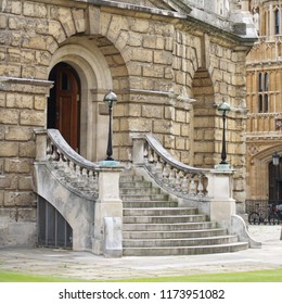 Entrance to the Radcliffe Camera, Oxford.