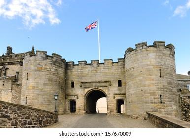Entrance to Stirling Castle, Scotland