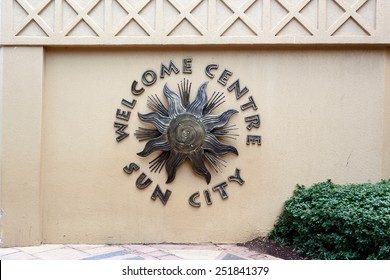 Entrance to Sun City, Luxury Resort town in South Africa, african Las Vegas