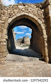 Entrance through the gate to bastion in old turkish stronghold Akkerman, on the Dniester estuary leading to the Black Sea, Belgorod-Dnestrovsky, Ukraine. Unesco heritage site.