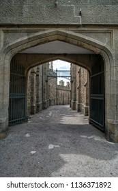 Entrance to the Vorontsov Palace, Crimea
