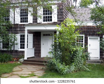 Entrance to Walt Whitman birthplace in East Hills NY 06/06/2012