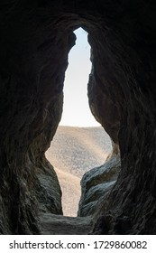The entrance of the womb cave - an ancient Thracian sacred place at the heart of the magical Rhodopes mountain