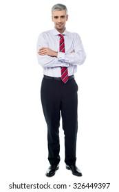 Entrepreneur, full length portrait.