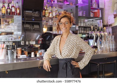Entrepreneur and owner of a cafe in Paris
