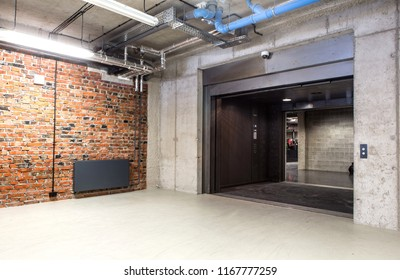 Entry to elevator, lift