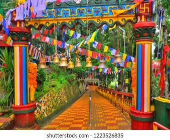 Entry gate of Mahakal temple in Darjeeling.