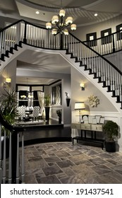 Entry Staircase This Luxury Stairway Entry Architecture Stock Images, Photos of Staircase, Living room, Dining Room, Bathroom, Kitchen, Bed room, Office, Interior photography.