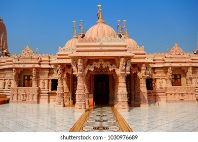 Entry view of BAPS Shri Swaminarayan Mandir Pune