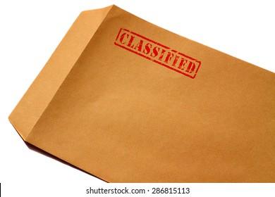 Envelope classified