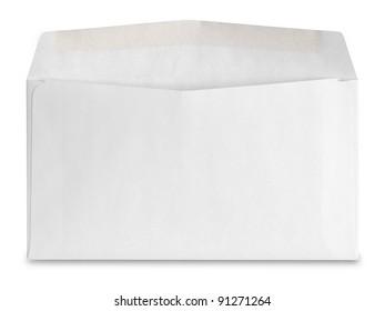 envelope isolated on white