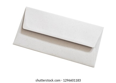 Envelope isolated on white background.