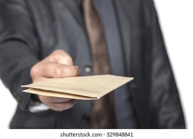 envelope like a gift