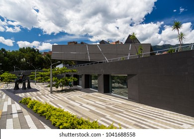 Envigado, antioquia, Colombia; May 2014: Public Library and Cultural Park Debora Arango, Envigado, antioquia Colombia