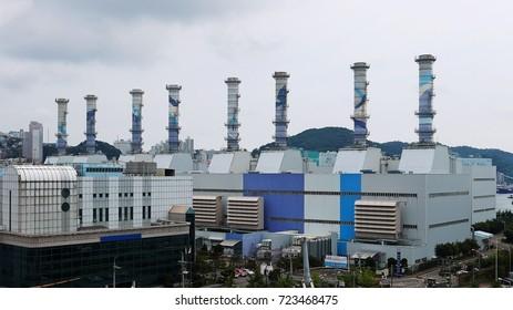 environment friendship gas power plant view plant,