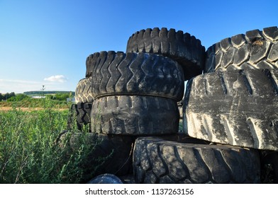 Environment pollution by old tyres