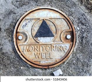 Environmental Monitoring Well Cap