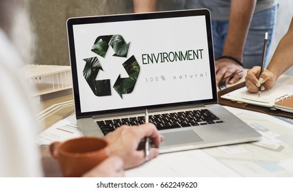 Environmental Natural Ecology Recycle Icon