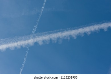 Environmental pollution by airplanes - chemtrails or contrails