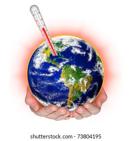 environmental protection against climate change concept