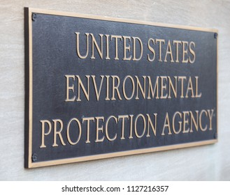 Environmental Protection Agency Headquarters Building Sign